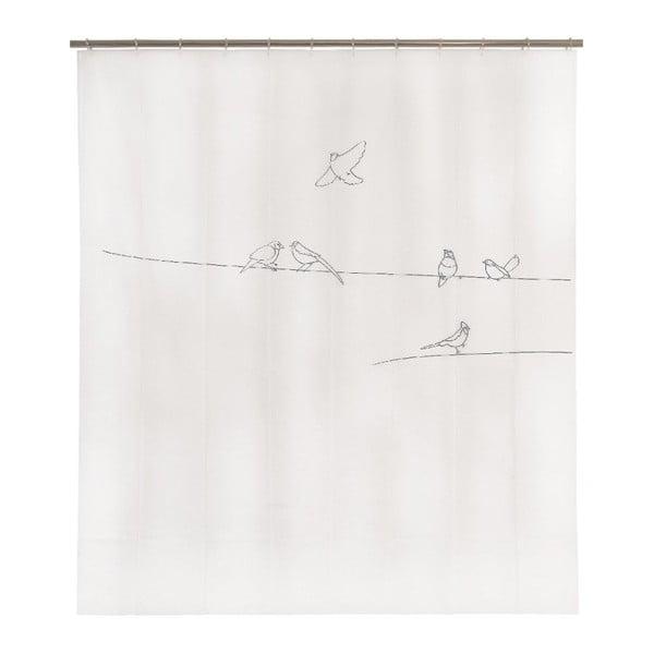 Sprchový závěs Birds, 200x180 cm