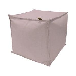 Puf OVERSEAS Hocker, 38 x 38 cm, roz
