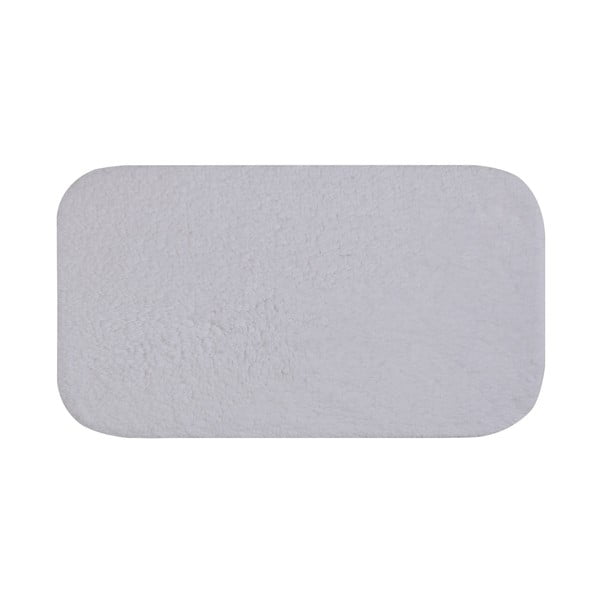 Bílá koupelnová předložka Confetti Bathmats Organic 1500, 50 x 90 cm