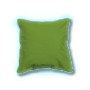 Sada 2 zelených svítících venkovních polštářků Sunvibes, 65x65cm