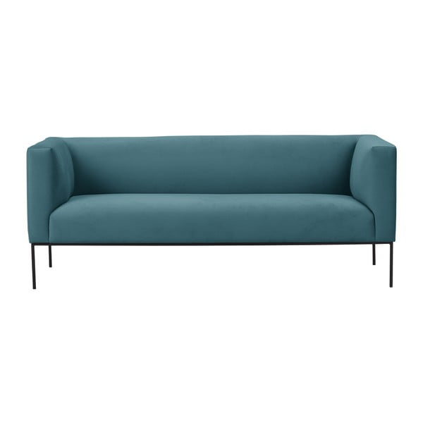 Turkusowa sofa 3-osobowa Windsor & Co Sofas Neptune