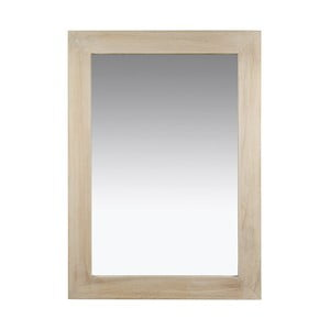 Nástěnné zrcadlo s rámem ze dřeva paulownia SantiagoPons Tina, 75x106cm