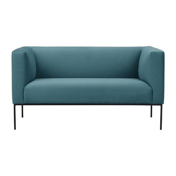 Tyrkysová pohovka Windsor & Co Sofas Neptune, 145 cm