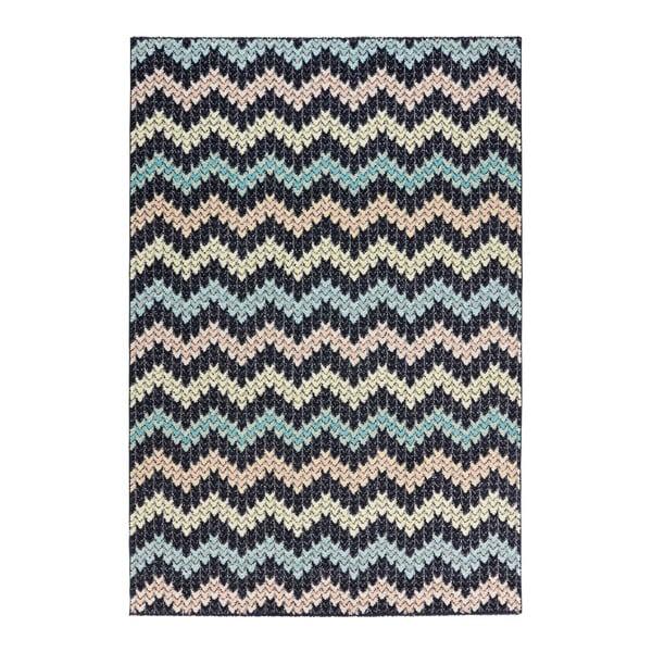 Černý koberec Mint Rugs Madison Pastel, 120 x 170 cm