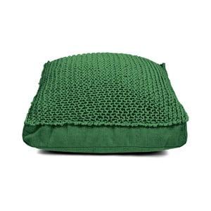 Tmavě zelený sedací polštář HF Living Nature Square