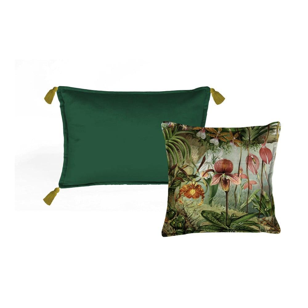 Sada 2 dekorativních polštářů Velvet Atelier Potion, 45 x 45 cm
