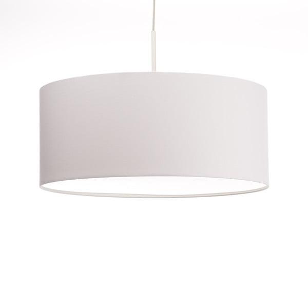 Bílé stropní světlo Artist, variabilní délka, Ø 60 cm