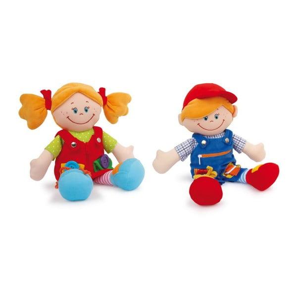 Zestaw 2 lalek szmacianych Legler Chiara & Massimo
