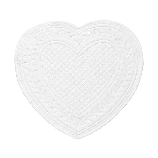 Set 6 bavlněných prostírání Pure Heart, 30 cm
