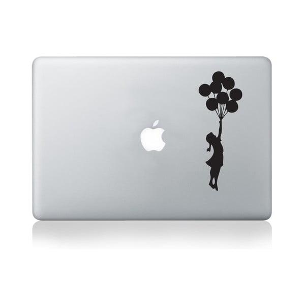 Samolepka na notebook Apple Balloon Girl by Banksy