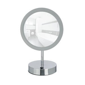 Kosmetické zrcadlo s LED světlem Wenko Aura
