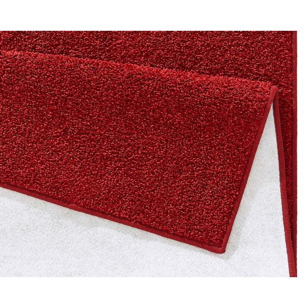 Červený běhoun Hanse Home Pure, 80x200cm