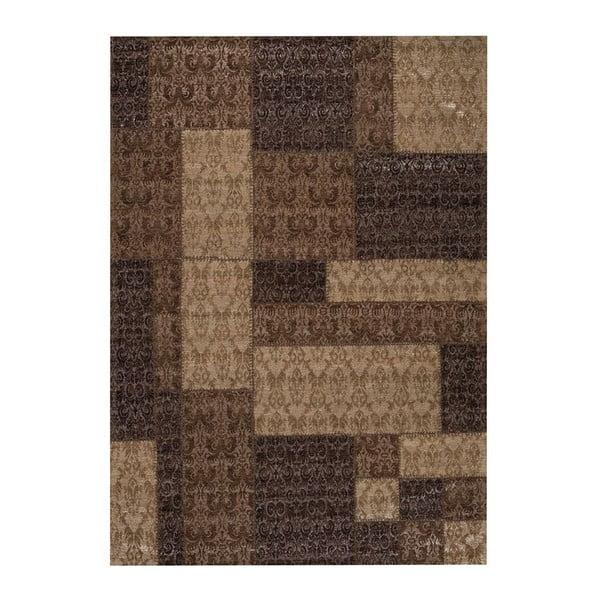 Koberec Patchwork 8 Brown, 75x150 cm