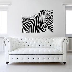 Samolepka na stěnu Zebra, 120x90 cm
