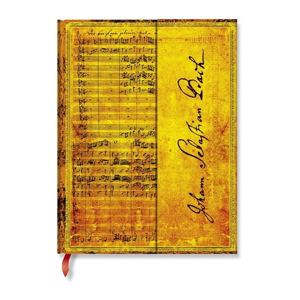 Agendă Paperblanks Bach, 18 x 23 cm