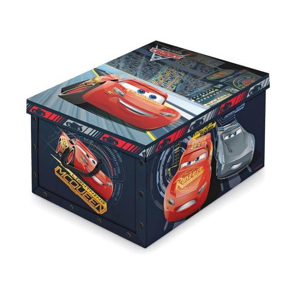 Úložný box s rukoväťami Domopak Living Cars