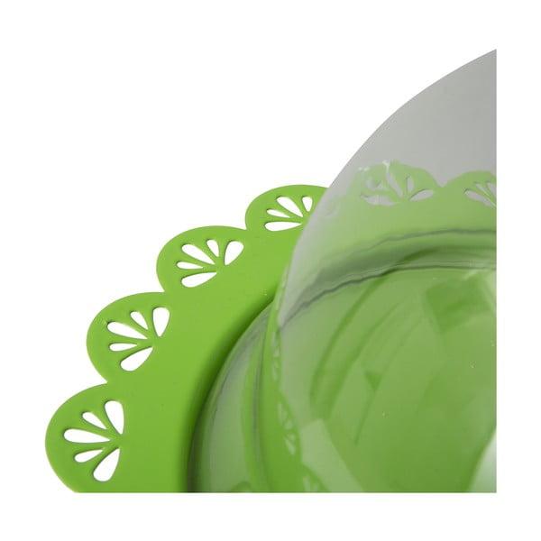 Stojan na dorty Dolci 22 cm, zelený