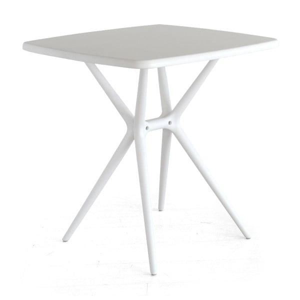 Snídaňový stolek Bongo, bílý