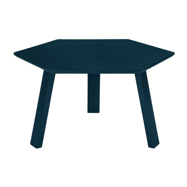 Konferenční stolek Hexagon Blue, 47x37x47 cm