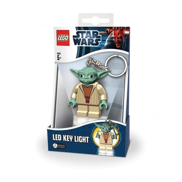 Breloc cu lanternă Lego Star Wars Yoda