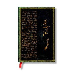 Zápisník s tvrdou vazbou Paperblanks Franz Kafka, 10x14cm