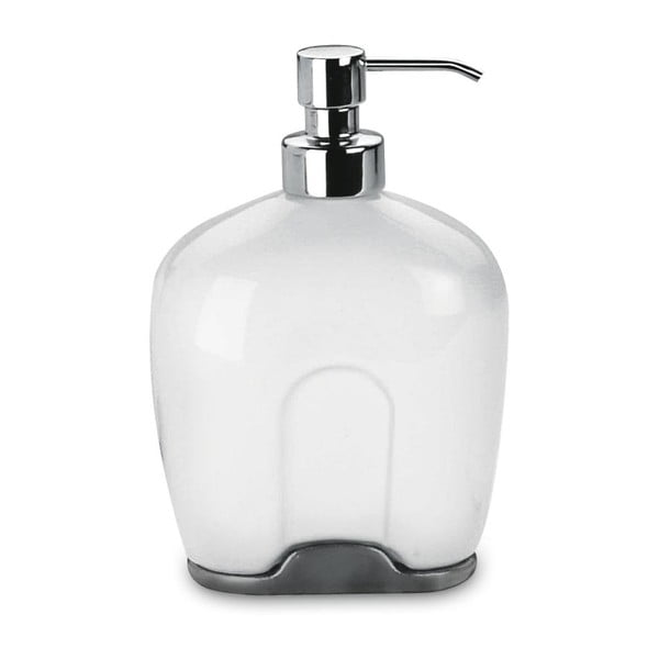 Dávkovač na mýdlo White Soap, 12x17,3x7,3 cm