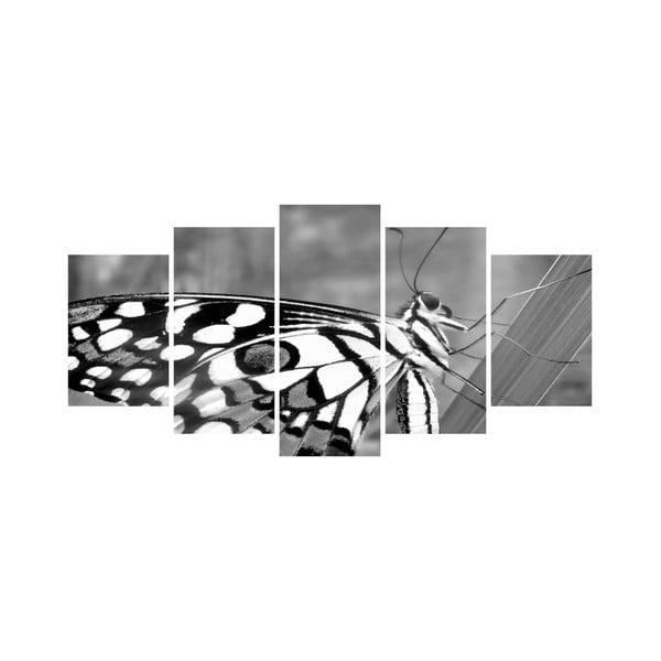 Vícedílný obraz Black&White no. 10, 100x50 cm