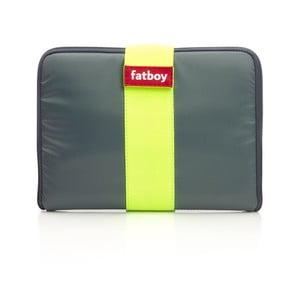 Fatboy obal na tablet Tuxedo, stříbrný/žlutý