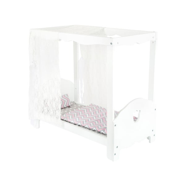 Postieľka do domčeka pre bábiky Legler Canopy Bed