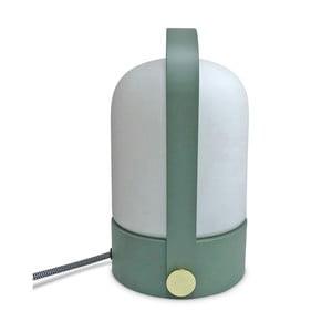 Stolní lampa se zelenou konstrukcí Opjet Paris Top
