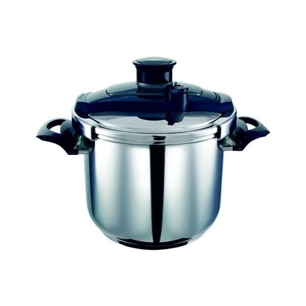 Oală de gătit sub presiune din oțel inoxidabil Lydia, 6,5l