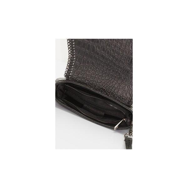 Kožená kabelka Giorgio Costa 7025 Black