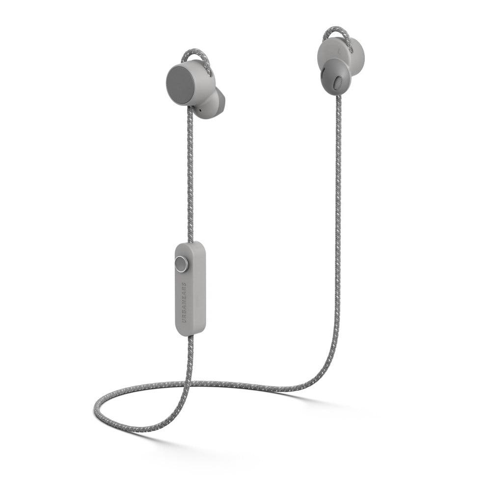 Šedá bezdrátová Bluetooth sluchátka do uší Urbanears JAKAN Ash Grey