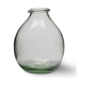 Váza z recyklovaného skla Vase, 17 cm