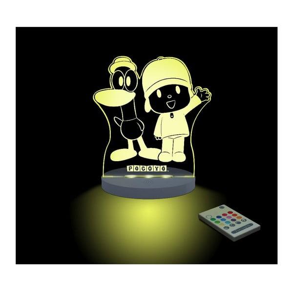 Dětské LED noční světýlko Pocoyo & Pato
