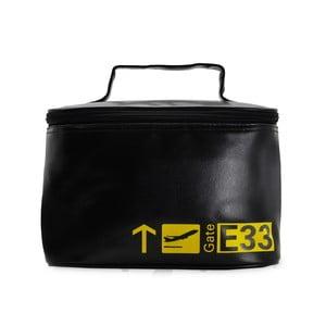 Cestovní kosmetická taška Vanity Black and Yellow