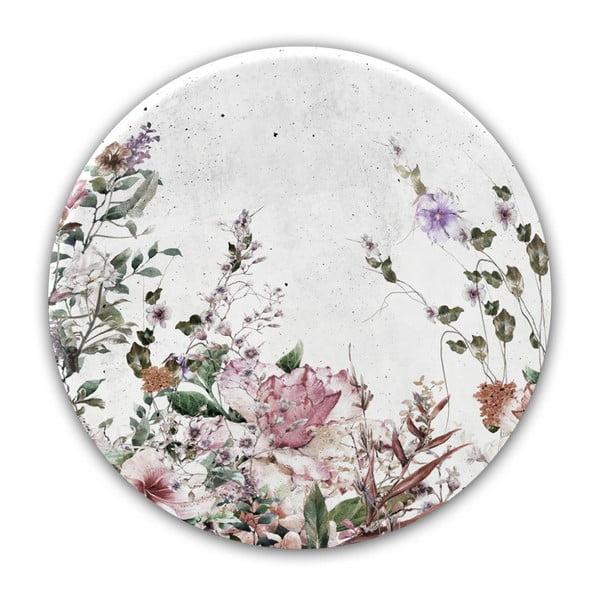 Nástěnná dekorace Styler Glasspik Ringart Pure, ø70cm