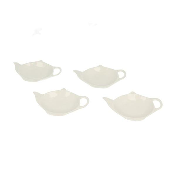 Sada 4 stojánků na čajové sáčky Duo Gift Teabag