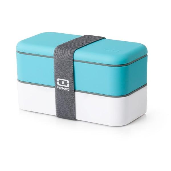 Modrý obědový box Monbento