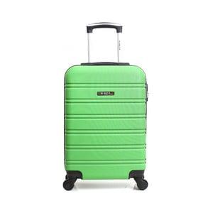 Zelený cestovní kufr na kolečkách BlueStar Bilbao, 35l