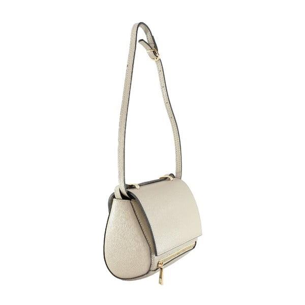 Kožená taška přes rameno Sonja, taupe
