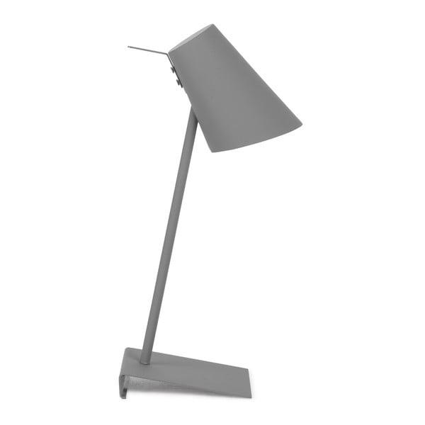 Šedá stolní lampa Citylights Cardiff