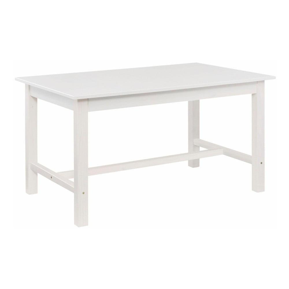Bílý jídelní stůl z borovicového dřeva Støraa Randy, 100 x 220 cm
