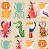 Balicí papír Rex London Colourful Creatures