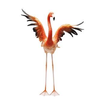 Statuetă decorativă Kare Design Flamingo Road Fly, înălțime 66cm de la Kare Design