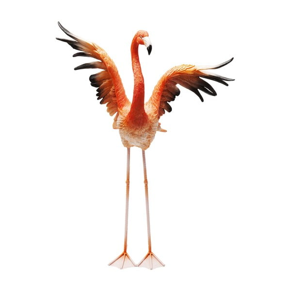 Statuetă decorativă Kare Design Flamingo Road Fly, înălțime  66 cm