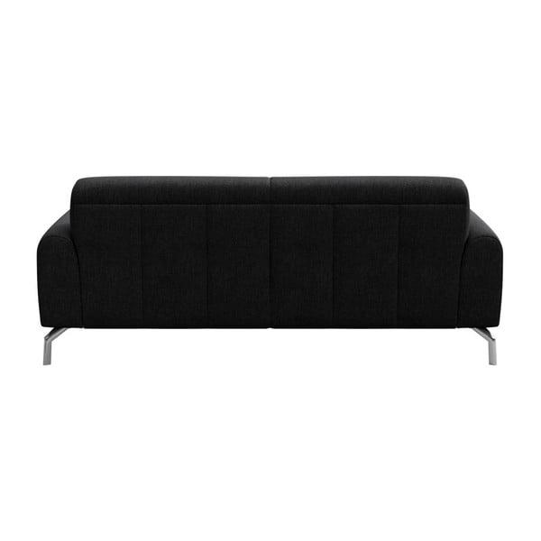 Canapea cu 2 locuri MESONICA Puzo, gri antracit
