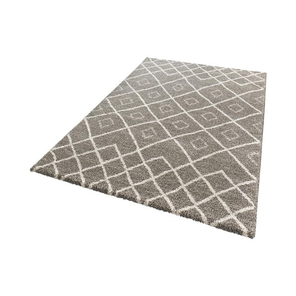 Hnědý koberec Mint Rugs Draw, 200x290cm