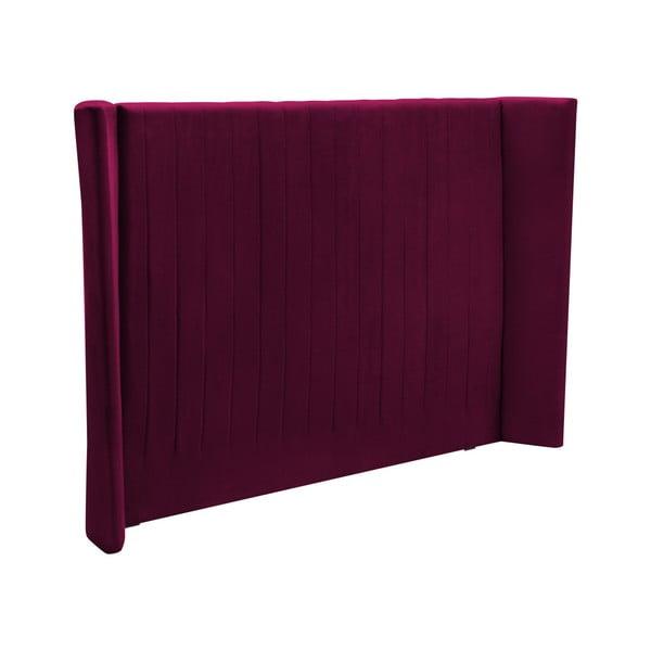 Burgundově červené čelo postele Cosmopolitan design Vegas, 180x120cm