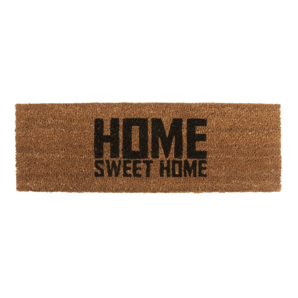 Rohožka s černým nápisem PT LIVING Home Sweet Coir, 75x26cm
